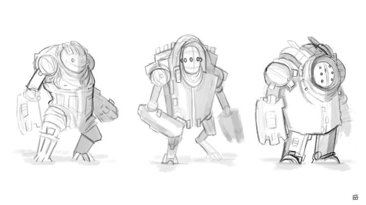 Some new creature concepts for a possible Underlings sequel.