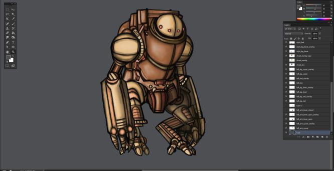Mech Suit Update